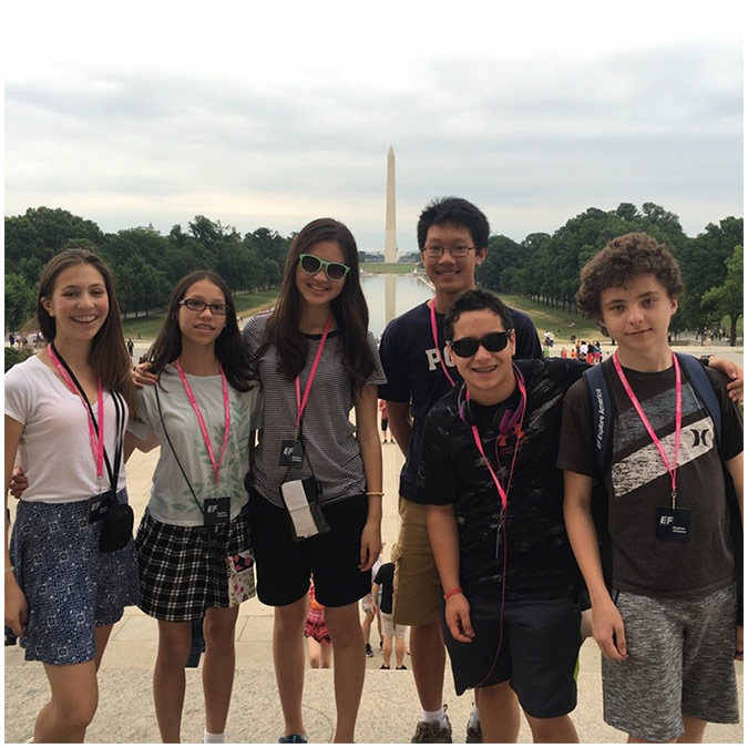 Brookfield Students Tour our Nation's Capital